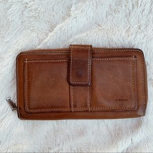 Fossil | Genuine Leather Brown Wallet